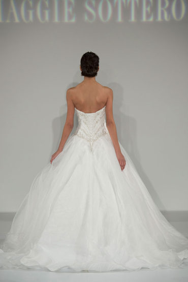 Maggie Sottero's Spring 2015 Bridal Collection revealed at Bridal Fashion Week, NY